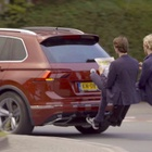 Stunt for New Volkswagen Tiguan Allspace Adds Two Remarkable Extra Passengers