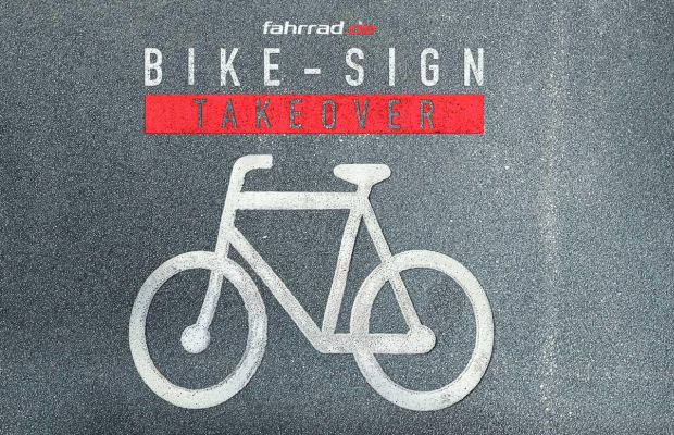 BBDO Düsseldorf Sells Bikes on Bike Lanes with 'Bike-Sign Takeover'