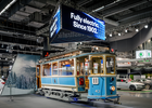 Swedish Public Transit Service Trolls Electric Car Show With 100 Year Old Tram