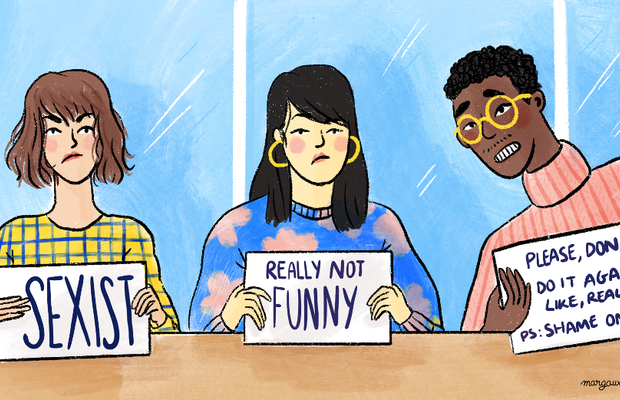 Men, It's Time for You to Learn Not to Take a Joke