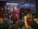 Jesse Lingard Surprises Community Footballers with the Iconic Coca-Cola Christmas Truck