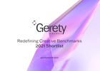 Gerety Awards Announces Global Shortlist and 'Agency of the Year' by Country Awards