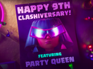 Archer Queen Brings The Party in Clash of Clans 9th Anniversary Spot