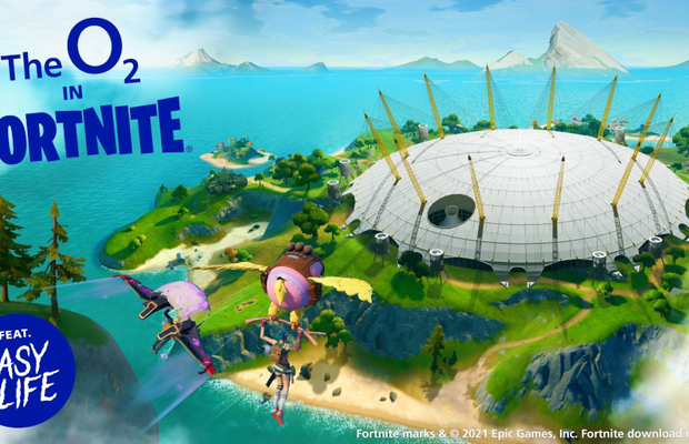 O2 Launches World's First Real Life Super Venue in Fortnite Creative