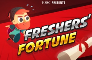 Play JWT's Online 'Fresher's Fortune' Game for HSBC