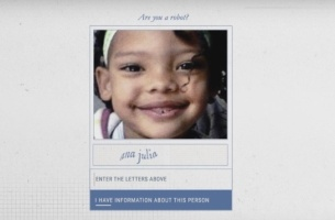 Leo Burnett Tailor Made's Security Captcha is Helping Find Missing People
