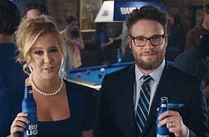 Amy Schumer & Seth Rogen Kick Start the Debate in Latest Bud Light Spot