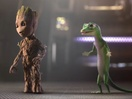 Baby Groot and GEICO's Gecko Team Up to Save You... Money