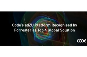 Code's adZU Named Key Performer in Forrester Research Report