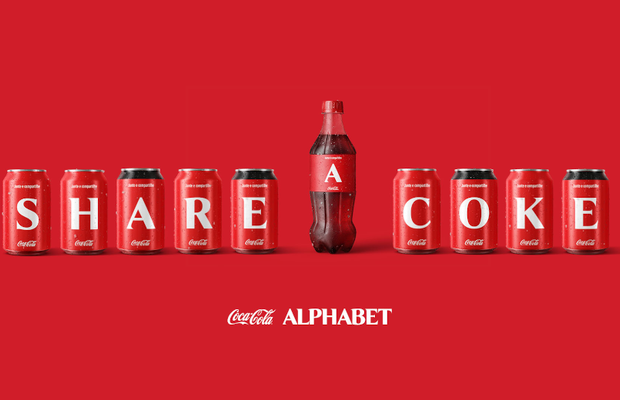 Coca-Cola's Lettered Bottles Express the Hope for a Better 2021