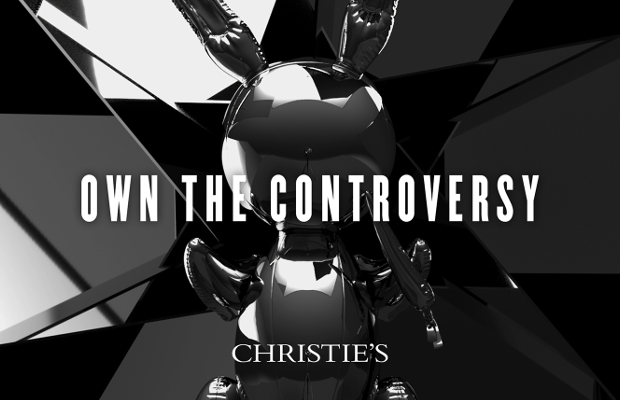 Christie's Auction House Invites People to 'Own the Controversy' Ahead of Jeff Koons' Rabbit Auction