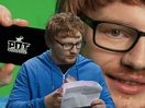Ed Sheeran's Doppelgänger is Offering a Pot Noodle Black Card to Other Celebrity Lookalikes
