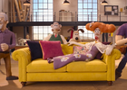 Wallace & Gromit Feature in 'The Grand Sofa Caper' for DFS