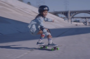 Nine-Year-Old Pro Skater Stars in Dream-like Film for Swedish Brand COM HEM