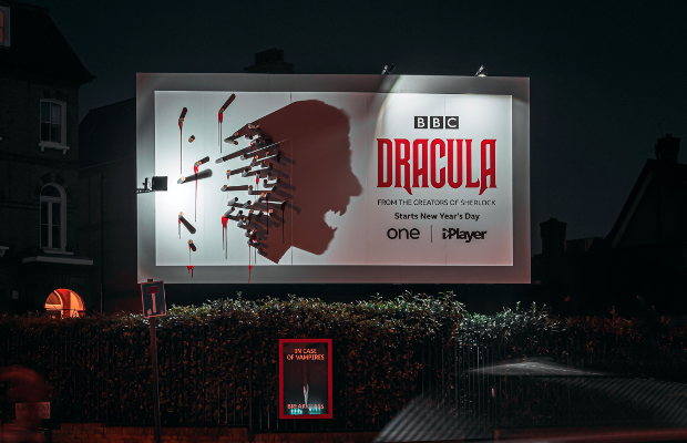BBC Creative Uses Shadow Art to Celebrate the 'Bloody Legend' of Dracula