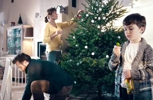 'Tis The Season to Give Back in Tymbark Drinks' Christmas Advert