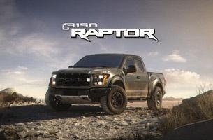 Raptor Attacks the Desert in Thrilling 2017 Ford Film from Flavor