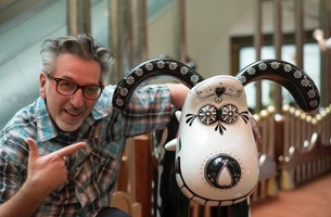 Great Guns Director Remo Camerota Gives Gromit a Ghoulish Makeover