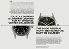 British Watchmaker Vertex's First Ad Campaign in 50 Years Taps into Their Military Heritage
