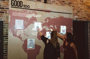 RTO+P's Maker Studio Builds Giant Interactive Map for GOOD Magazine