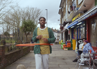 Hula Through the Neighbourhood with Lucozade's Positive Energy Spot