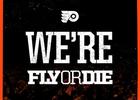 'FlyOrDie' in Philadelphia Flyer's Home Opener Campaign by Allen & Gerritsen