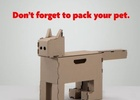Home Hardware Creates Pet Shaped Packaging To Remind Us Not to Leave Them Behind