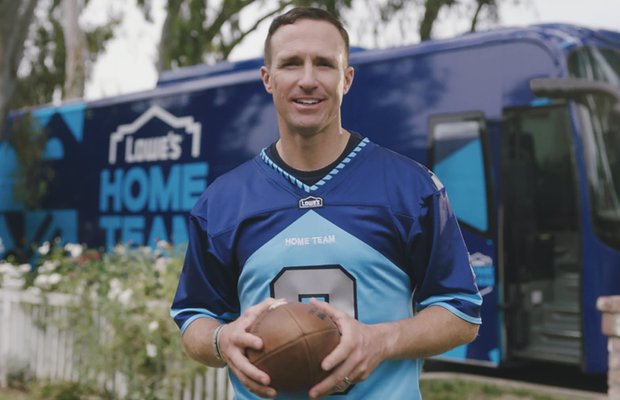 There's a New Team in the NFL: Lowe's Recruits America to Join Lowe's Home Team to Make Homes Better for All