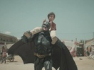 Batman Becomes Best Friends with a Young Refugee in Powerful New Film
