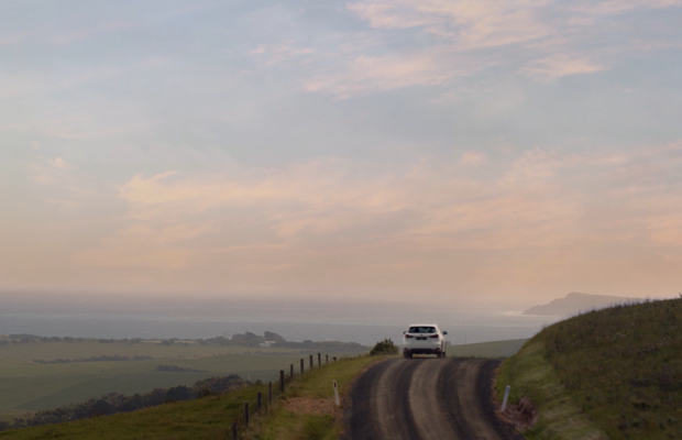 Fiction's Jake Robb Takes A Beautiful Festive Break with Lexus