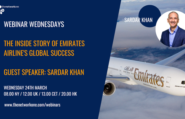 thenetworkone Webinar Wednesdays: The Inside Story of Emirates Airline and its Global Success
