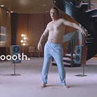 Music Forces Man's Belly to Dance in Quirky Campaign for Klarna