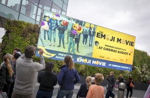 Emotions Trigger DOOH Campaign to Mark Premiere of Sony Pictures' Emoji Movie