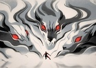 Athletes Battle Wolves and Dragons in Stunning BBC Winter Olympics Spot