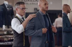 Meet 'The Tailor' in EP+Co's Latest Campaign for Men's Wearhouse