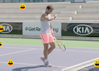 Kia's Fan Led Training Session Gets Rafael Nadal Moving