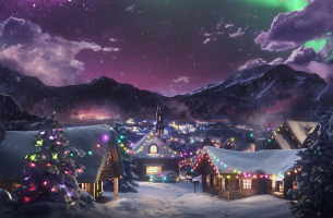 WCRS Counts Down To Christmas in Whimsical Sky Spot