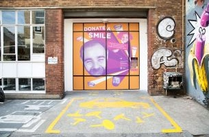 Wieden+Kennedy London Invites Londoners to #DonateASmile to St Joseph's Hospice