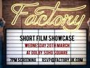 Factory's Short Film Showcase Returns for 2019