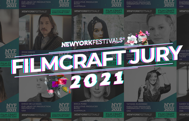 New York Festivals Advertising Awards Unveils 2021 Film Craft Executive Jury