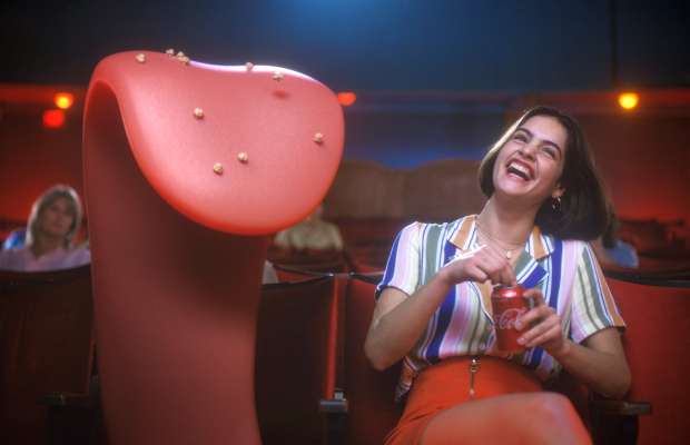 Celebrate That First Taste of Coca-Cola with This Giant Animated Tongue