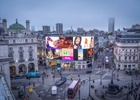 London's Iconic Piccadilly Lights Switched On After Nine Month Renovation