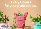 Miracle-Gro is Helping Plant Parents Celebrate Their Plant Babies with a Line of Pot-y Covers