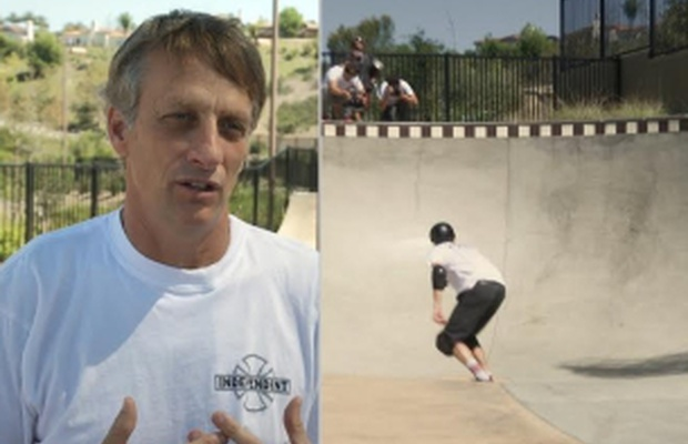 Tony Hawk Talks Skating in Pools to Raise Awareness of the LA Drought