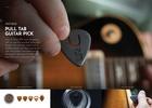 SingleCut Notes Pull Tab Guitar Pick