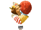 Burger King Makes Out with Ronald McDonald in Pride Campaign from TBWA\Helsinki