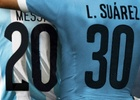 Mercado McCann Align Suarez and Messi's Jerseys to Celebrate World Cup Football