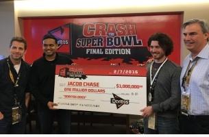 OB Signs 'Crash the Super Bowl' Winner Jacob Chase