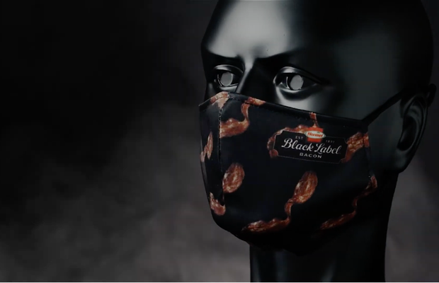 HORMEL BLACK LABEL Bacon Smells Like a Good Reason to Wear a Mask in Mouth-Watering Campaign