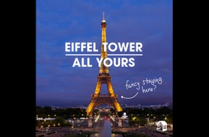 HomeAway Marks EURO 2016 Sponsorship with Opportunity to Sleep Over in the Eiffel Tower